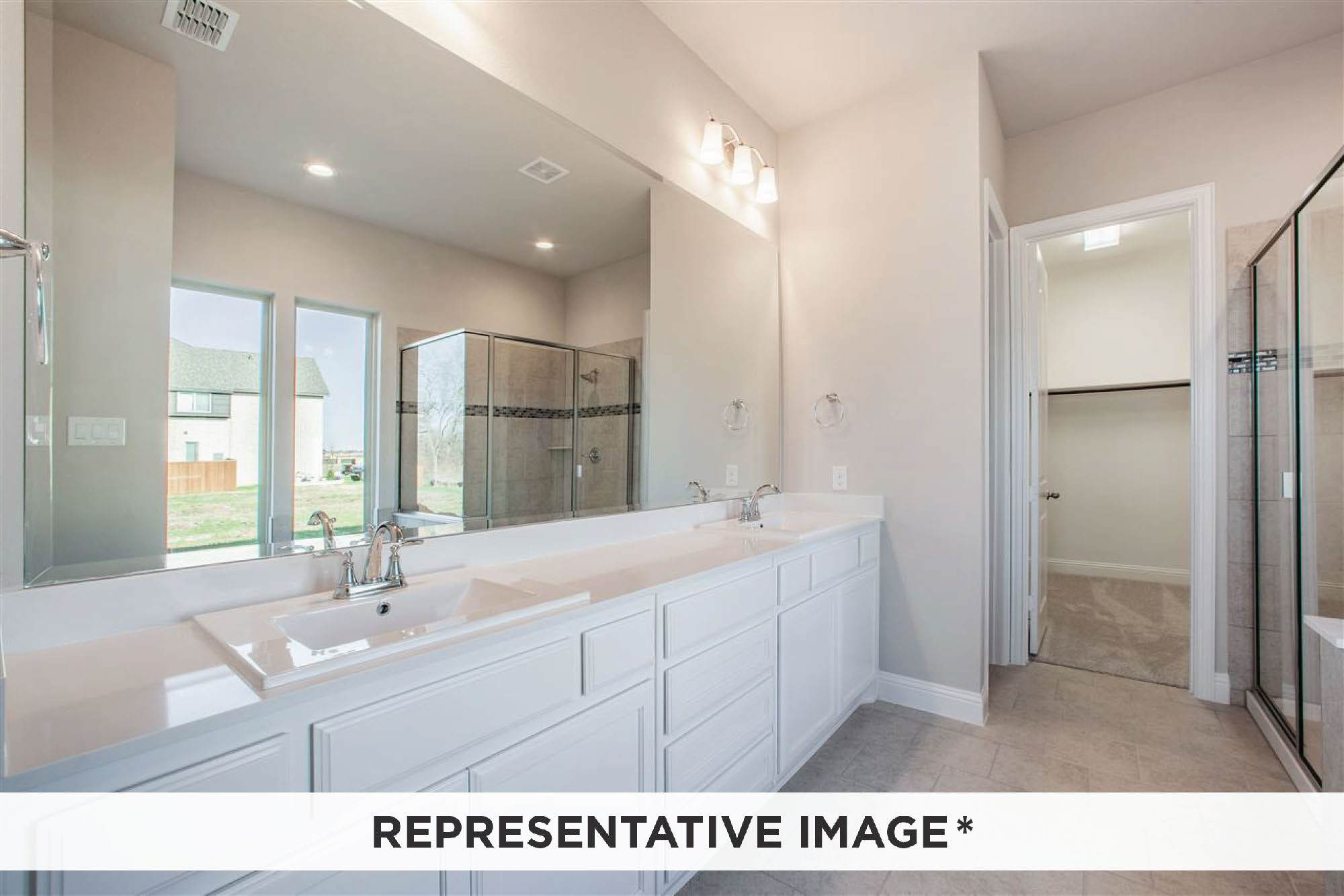 Bathroom featured in the Aria By Rendition Homes in Fort Worth, TX