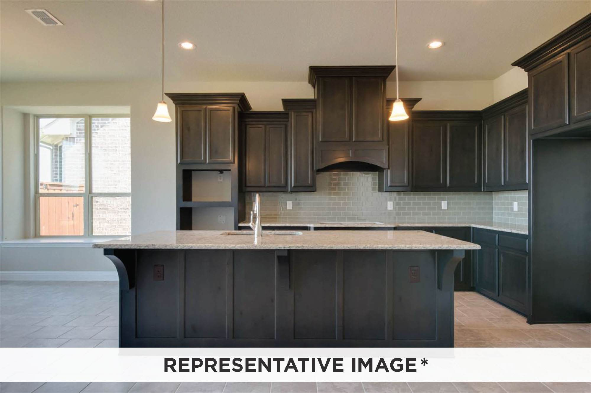Kitchen featured in the Arpeggio By Rendition Homes in Fort Worth, TX