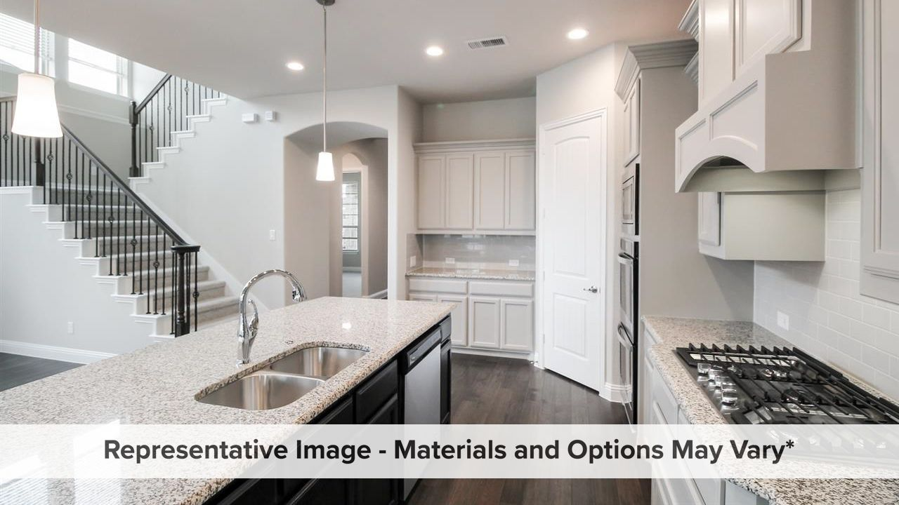 Kitchen featured in the Mezzo By Rendition Homes in Dallas, TX