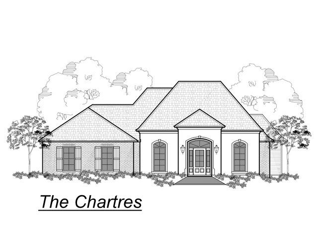 The Chartres:front elevation