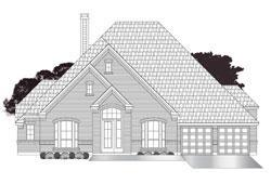 Exterior featured in the Artavia 3616 By Ravenna Homes in Houston, TX