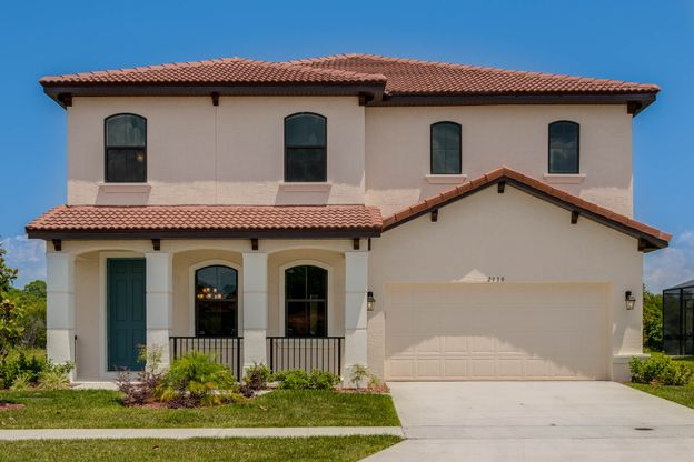 Villasol In Kissimmee Fl New Homes Floor Plans By Rey Homes