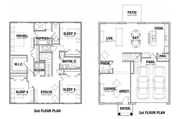 Enchanted Floor Plan