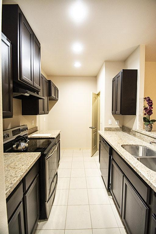 Kitchen featured in the Townhomes 3-Bed By WestWind Homes in Laredo, TX