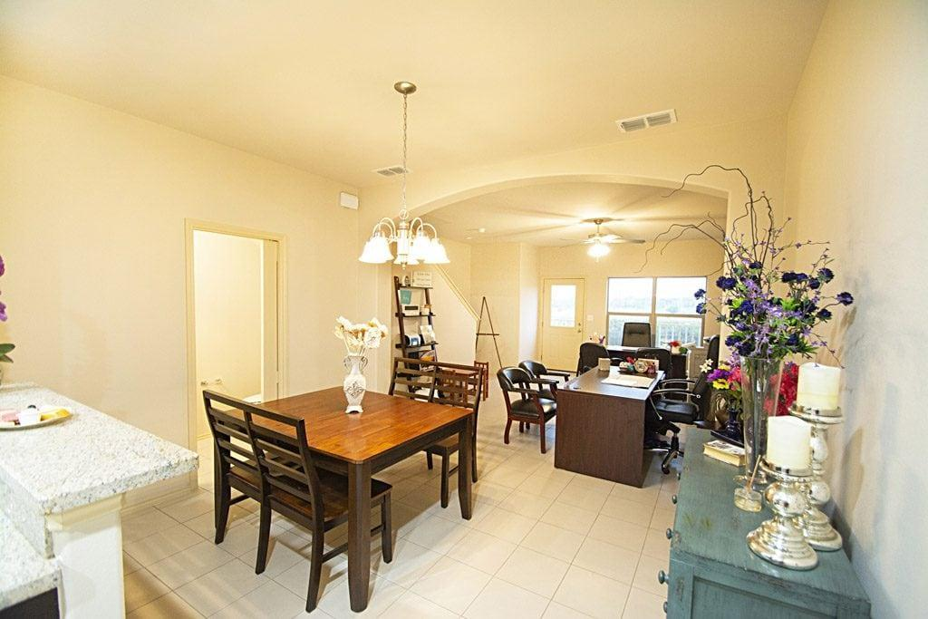 Living Area featured in the Townhomes 3-Bed By WestWind Homes in Laredo, TX