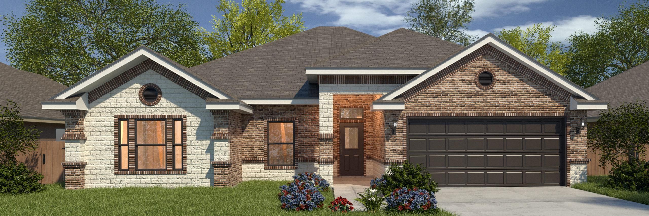 Exterior featured in the Ethan II By WestWind Homes in Rio Grande Valley, TX
