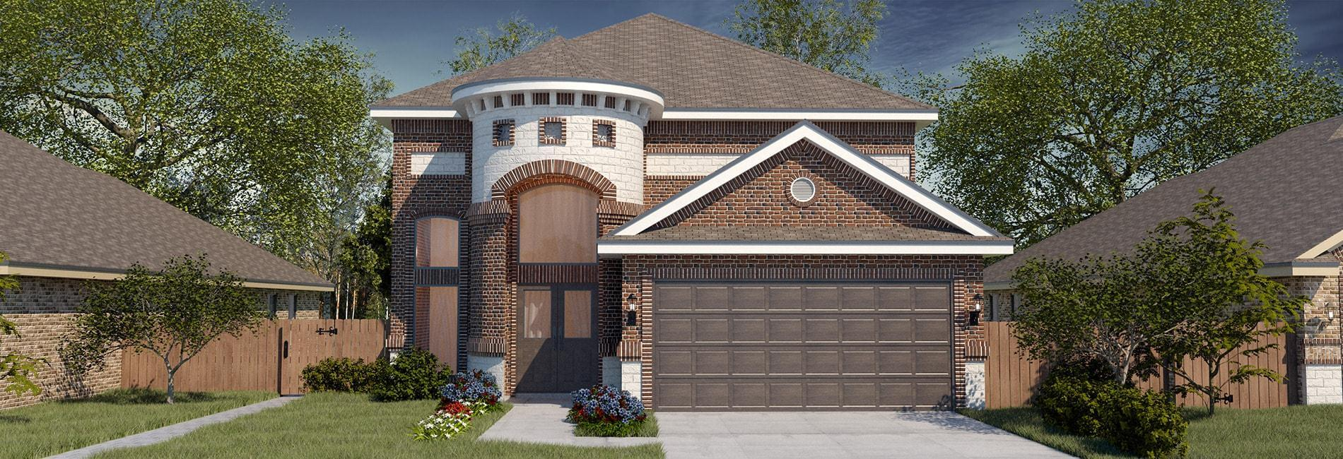 Exterior featured in the San Cristobal II By WestWind Homes in Rio Grande Valley, TX