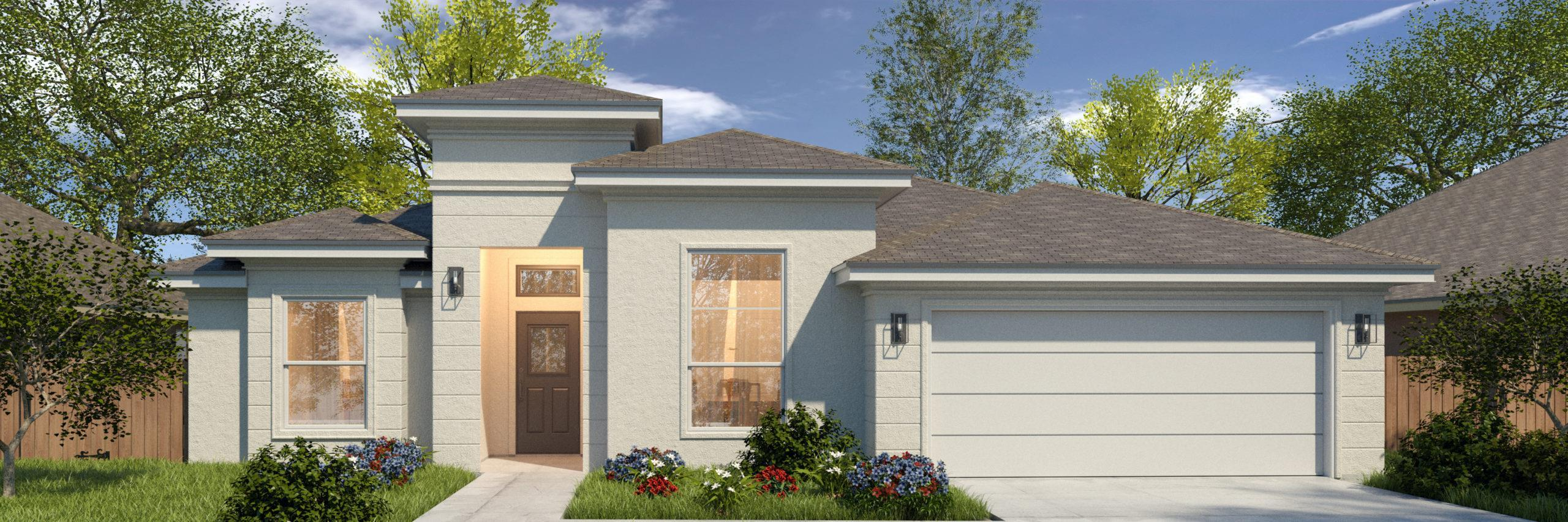 Exterior featured in the Victoria II By WestWind Homes in Rio Grande Valley, TX