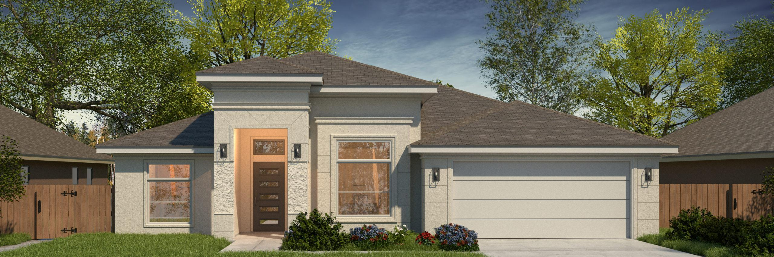 Exterior featured in the Angelica II By WestWind Homes in Rio Grande Valley, TX