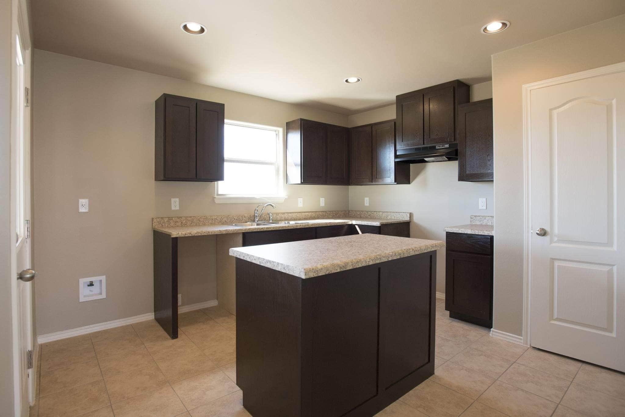 Kitchen featured in the San Vicente By WestWind Homes in Laredo, TX