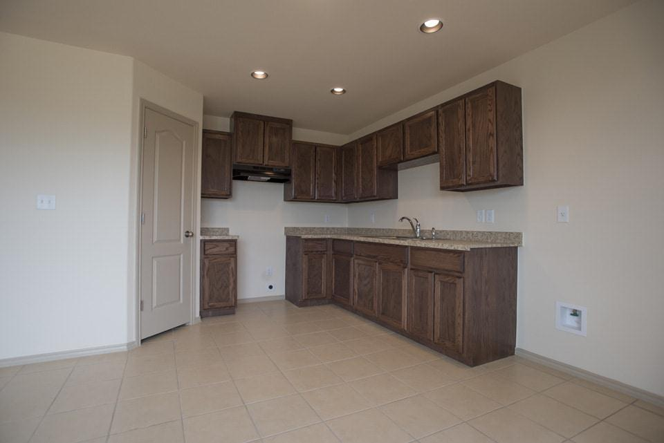 Kitchen featured in the Gardenia By WestWind Homes in Laredo, TX