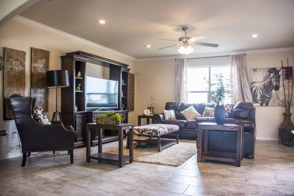 Living Area featured in the San Agustin By WestWind Homes in Laredo, TX