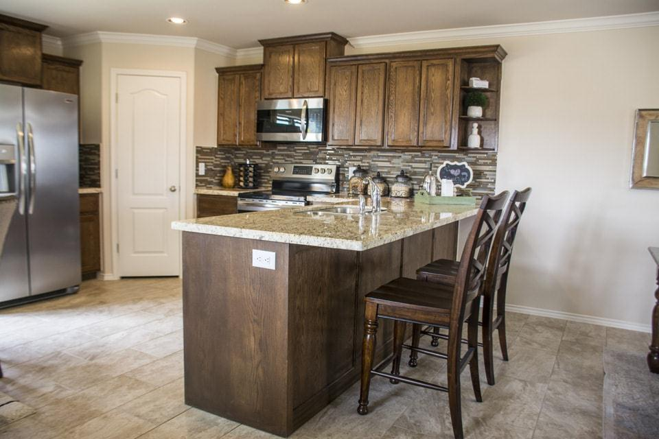 Kitchen featured in the San Agustin By WestWind Homes in Laredo, TX