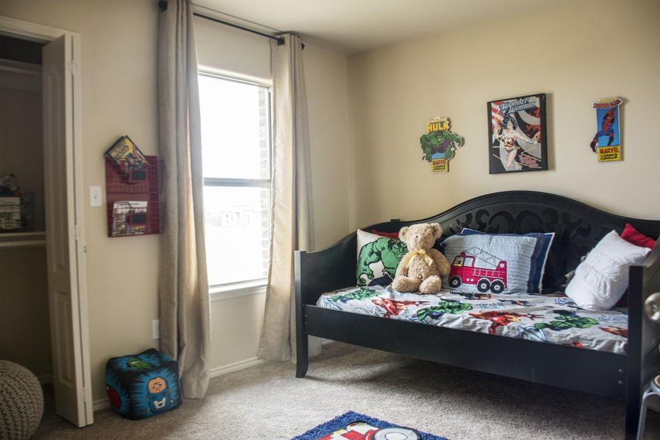 Bedroom featured in the San Agustin By WestWind Homes in Laredo, TX