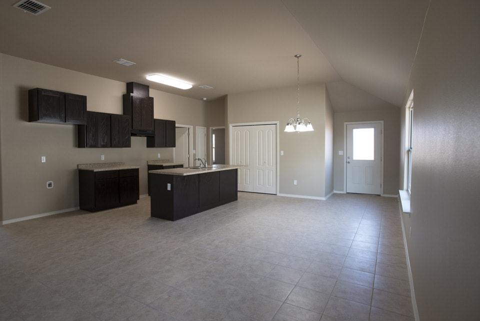 Kitchen featured in the San Isidro By WestWind Homes in Laredo, TX