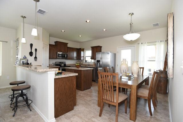 Kitchen featured in the San Cristobal By WestWind Homes in Laredo, TX