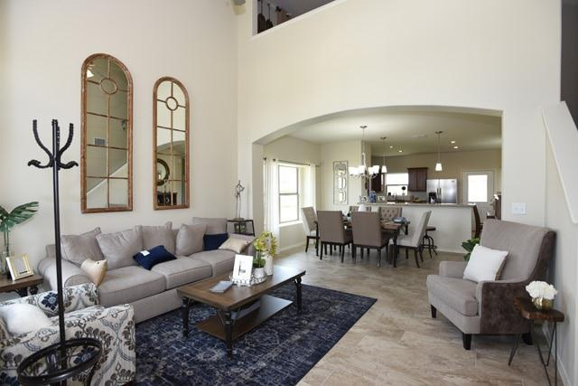 Living Area featured in the San Cristobal By WestWind Homes in Laredo, TX