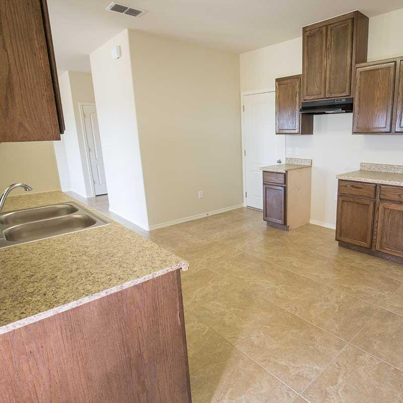 Kitchen featured in the San Felipe By WestWind Homes in Laredo, TX