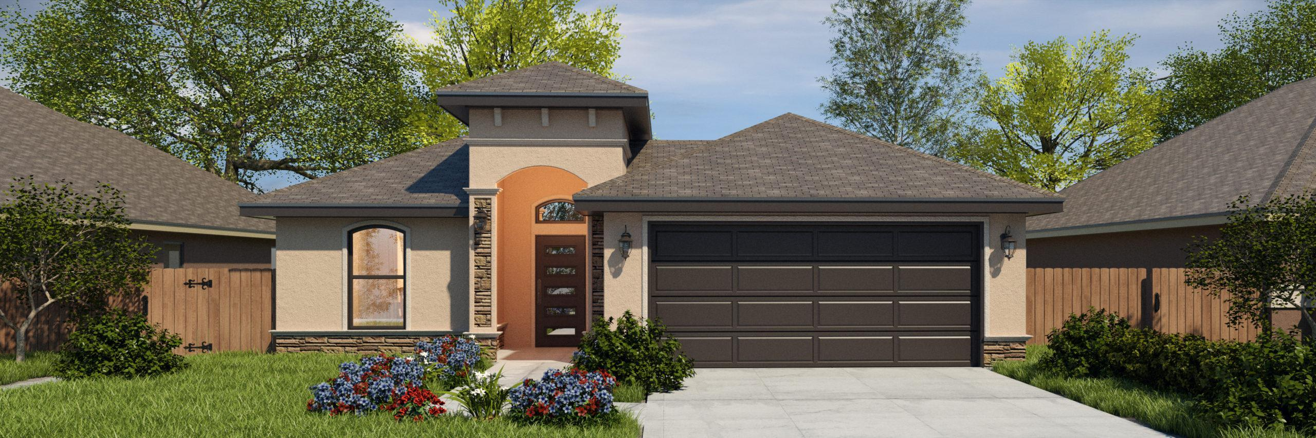 Exterior featured in the San Jude II By WestWind Homes in Rio Grande Valley, TX