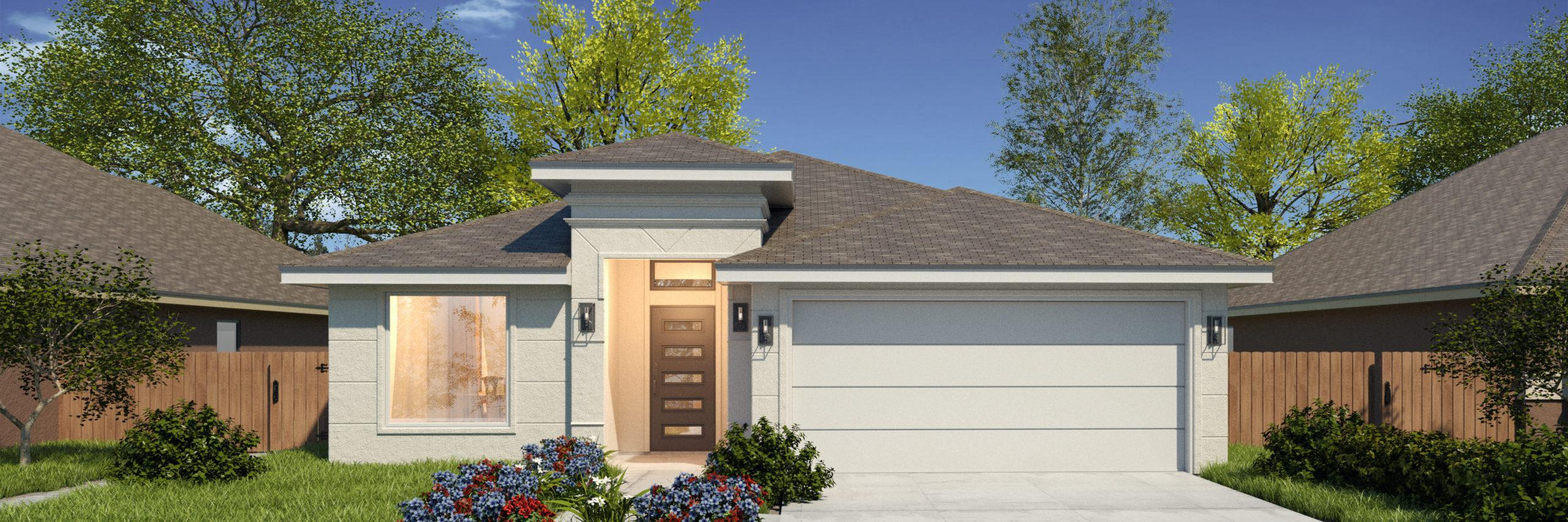 Exterior featured in the San Pedro II By WestWind Homes in Rio Grande Valley, TX