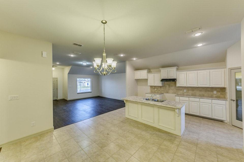 Kitchen featured in the Santa Cecilia II By WestWind Homes in Rio Grande Valley, TX