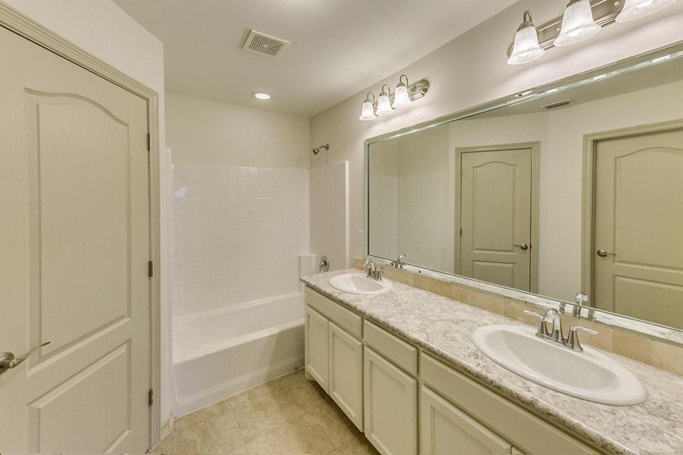 Bathroom featured in the Santa Cecilia II By WestWind Homes in Rio Grande Valley, TX