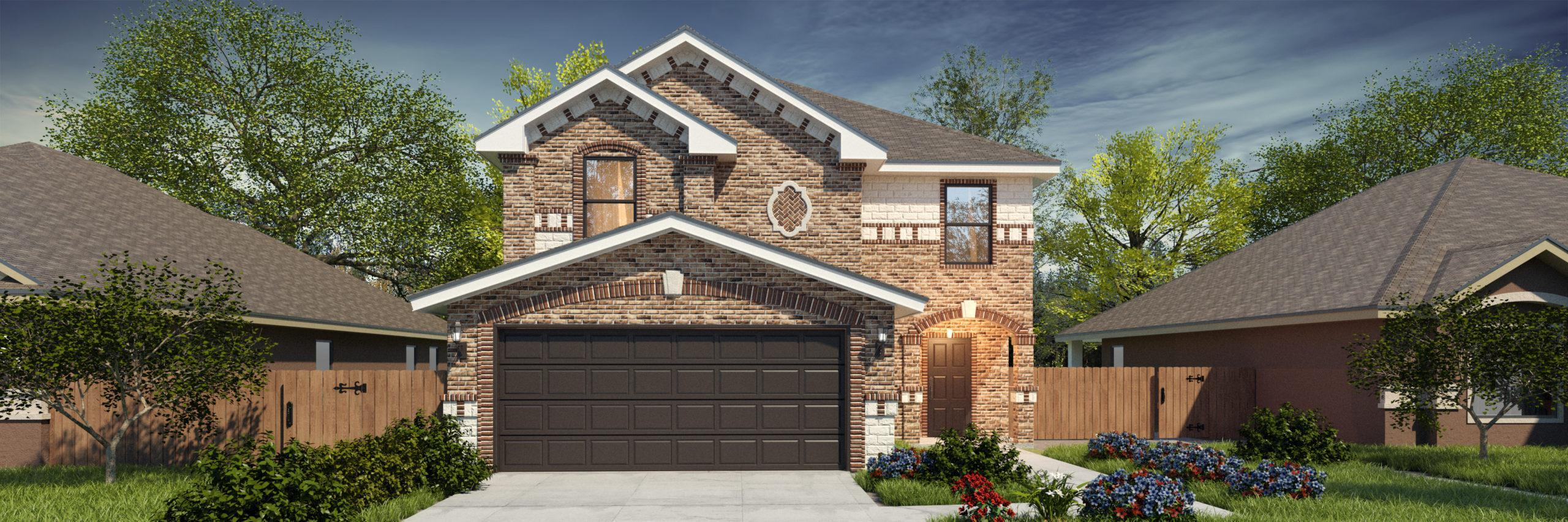 Exterior featured in the San Gabriel II By WestWind Homes in Rio Grande Valley, TX