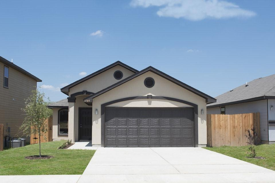 Exterior featured in the San Jorge By WestWind Homes in Laredo, TX