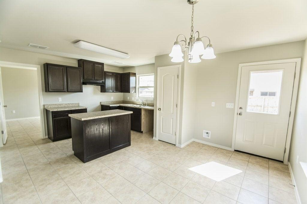 Kitchen featured in the San Jorge By WestWind Homes in Laredo, TX