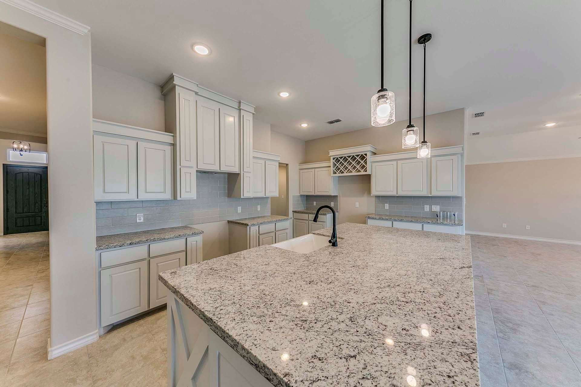 Kitchen featured in the Victoria II By WestWind Homes in Rio Grande Valley, TX