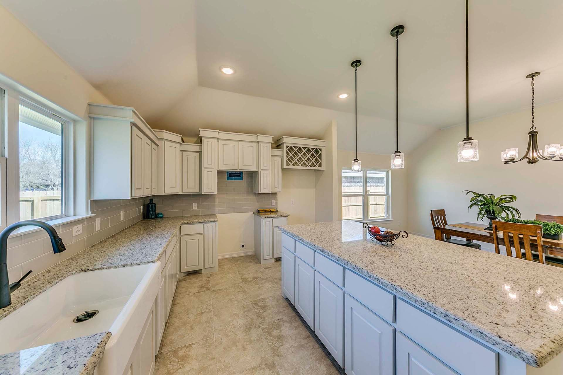 Kitchen featured in the Barceledo II By WestWind Homes in Rio Grande Valley, TX