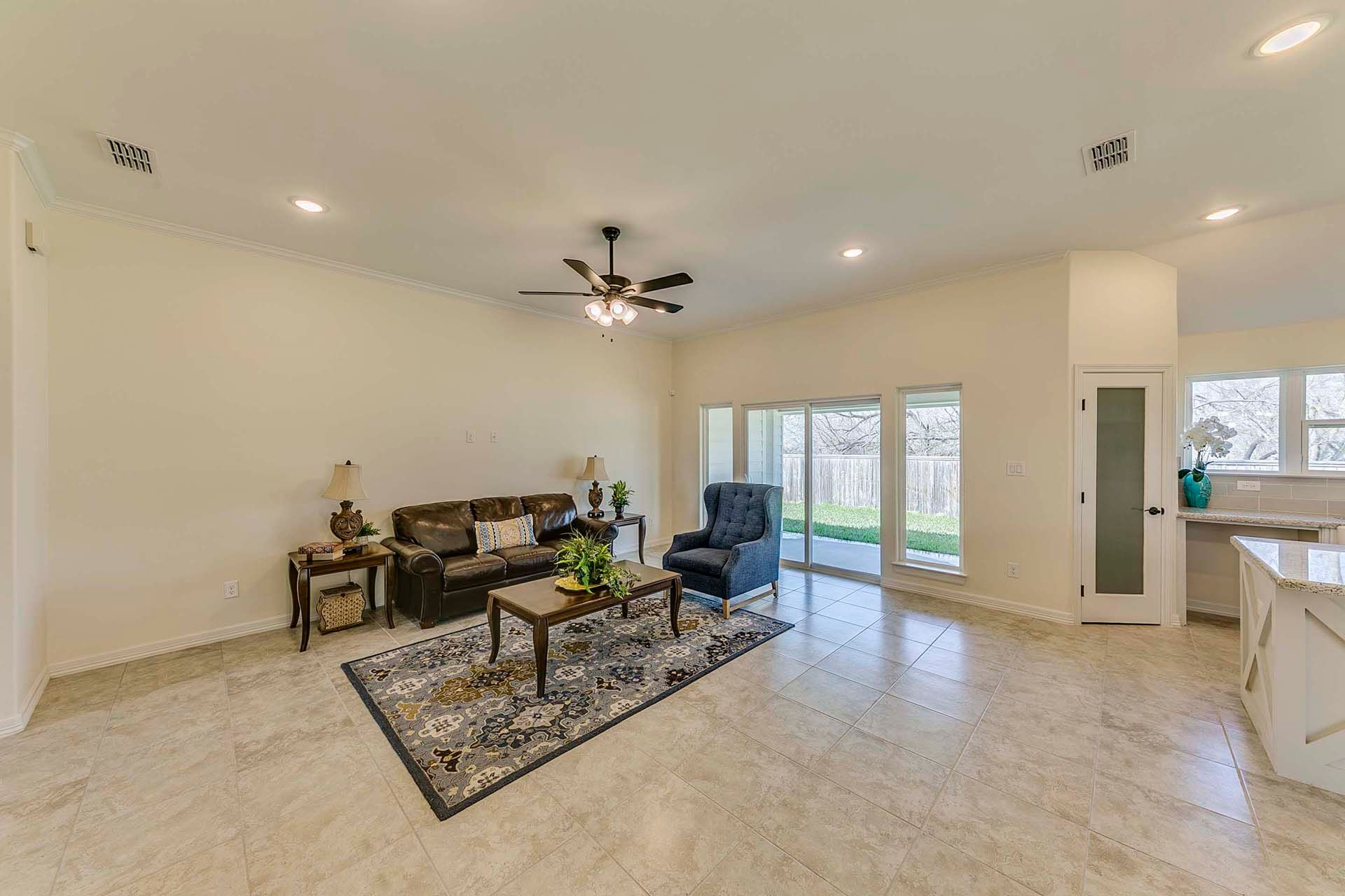 Living Area featured in the Barceledo II By WestWind Homes in Rio Grande Valley, TX