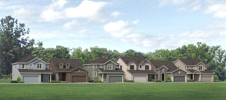 Centennial Collection - New Homes in Berthoud From Low 300's - Prairie Star