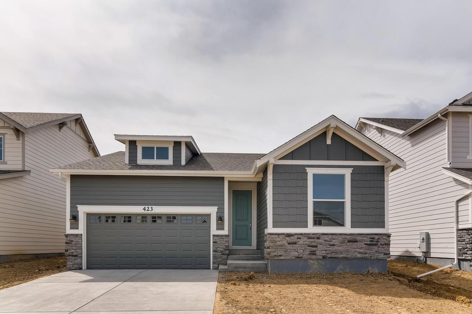 Exterior featured in the Ironton - Pleasant Valley By RichfieldHomes in Boulder-Longmont, CO