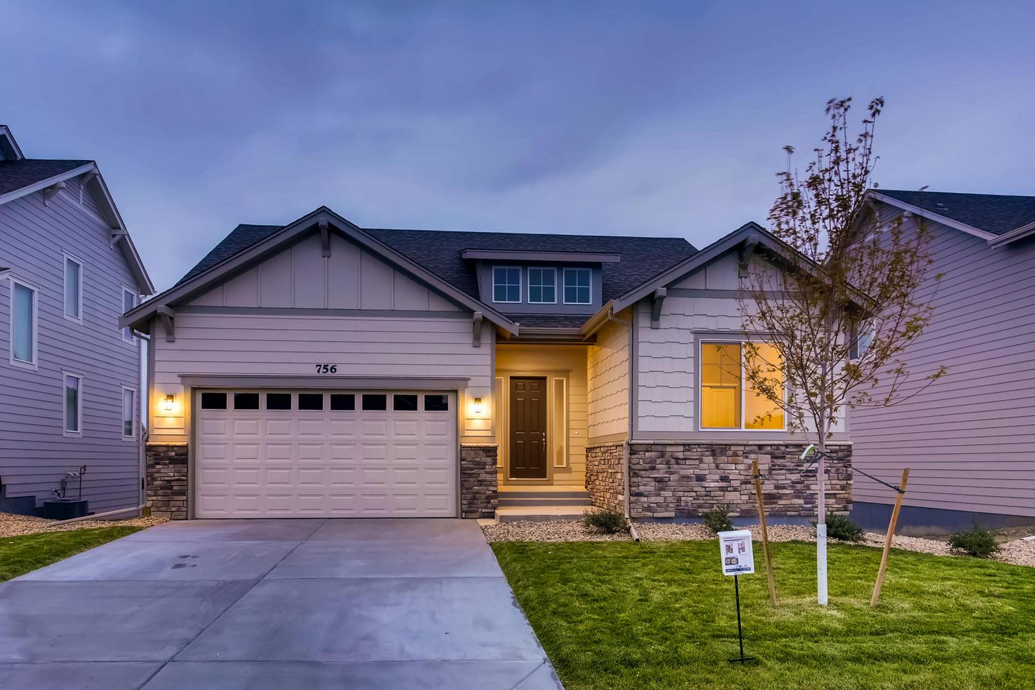 Exterior featured in the Norwood - Pleasant Valley By RichfieldHomes in Boulder-Longmont, CO