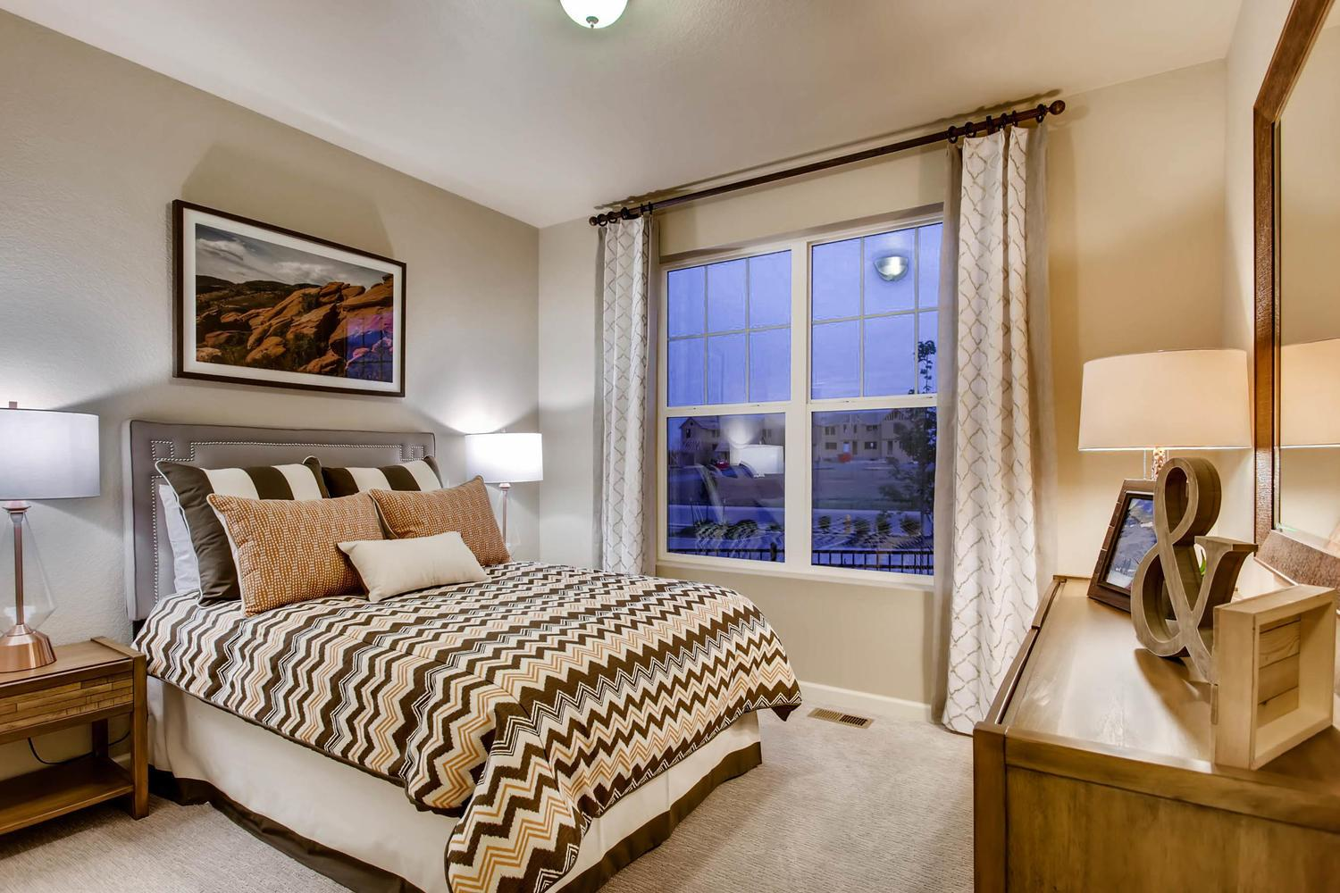 Bedroom featured in the Lakewood II By RichfieldHomes in Fort Collins-Loveland, CO