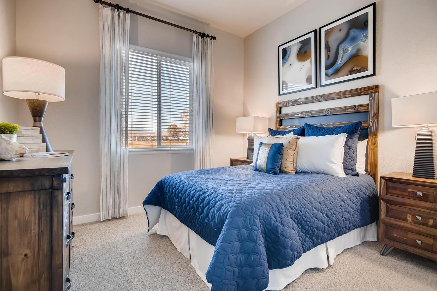 Bedroom featured in the Minturn - Enclave at Prairie Star By RichfieldHomes