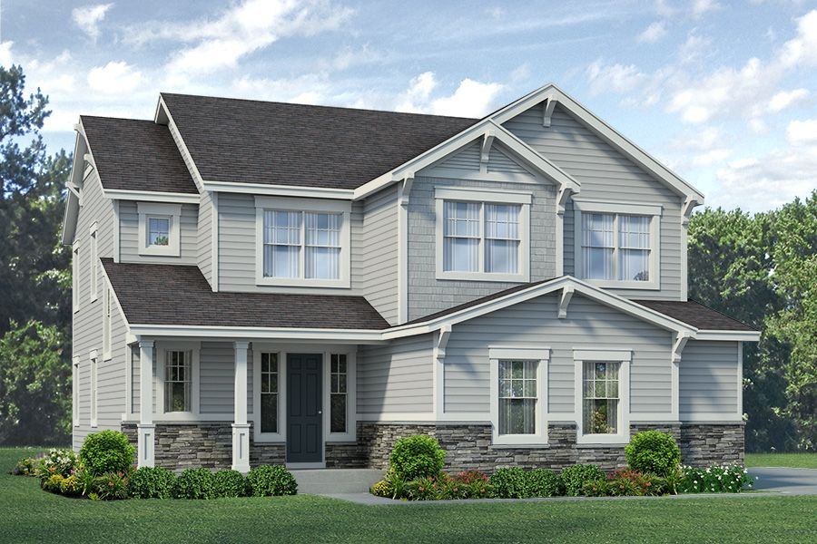 Exterior featured in the Kittredge - Enclave at Prairie Star By RichfieldHomes