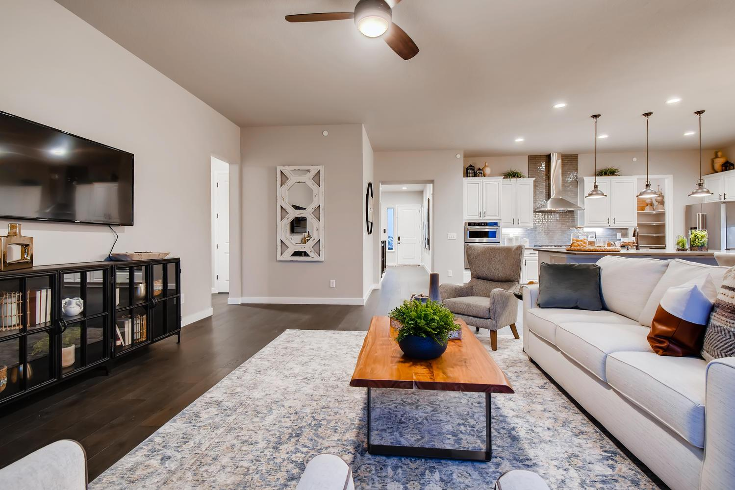 Living Area featured in the Penrose - Promontory at Todd Creek By RichfieldHomes in Denver, CO
