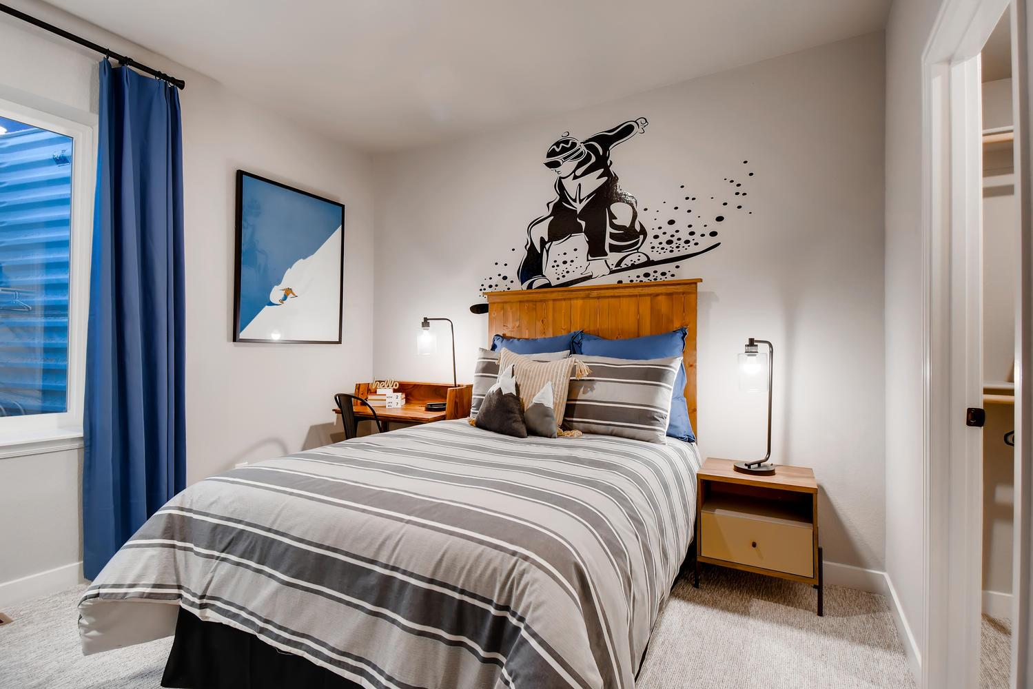 Bedroom featured in the Penrose - Promontory at Todd Creek By RichfieldHomes in Denver, CO