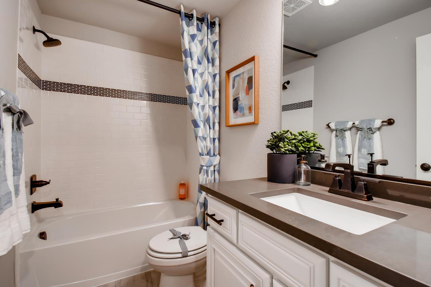 Bathroom featured in the Penrose - Promontory at Todd Creek By RichfieldHomes in Denver, CO