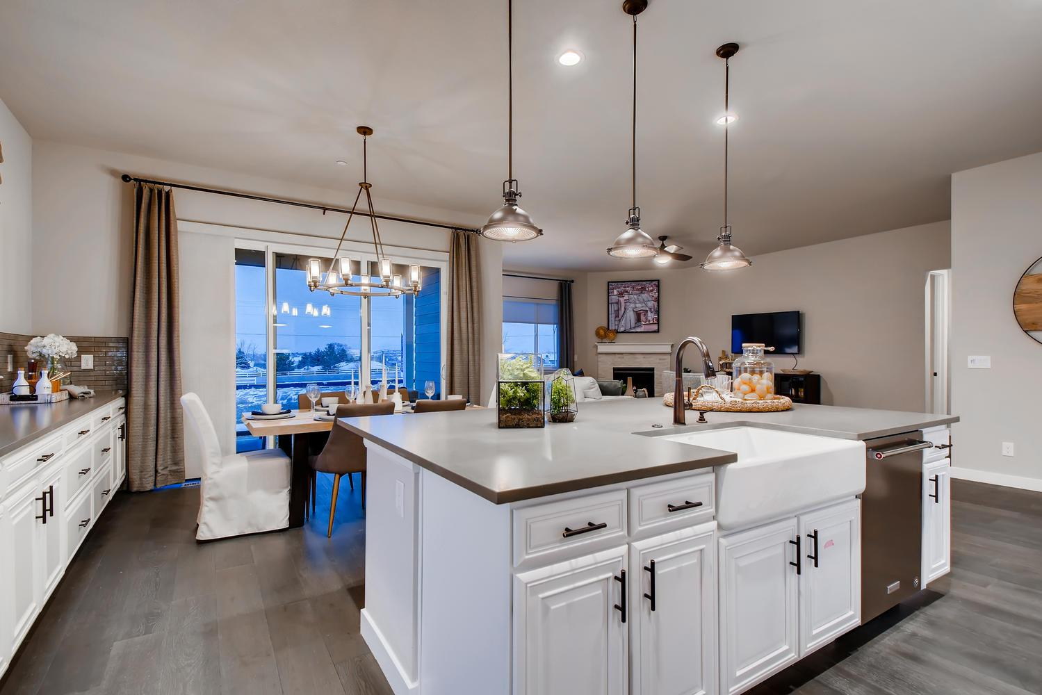 'Promontory at Todd Creek' by Richfield Homes in Denver