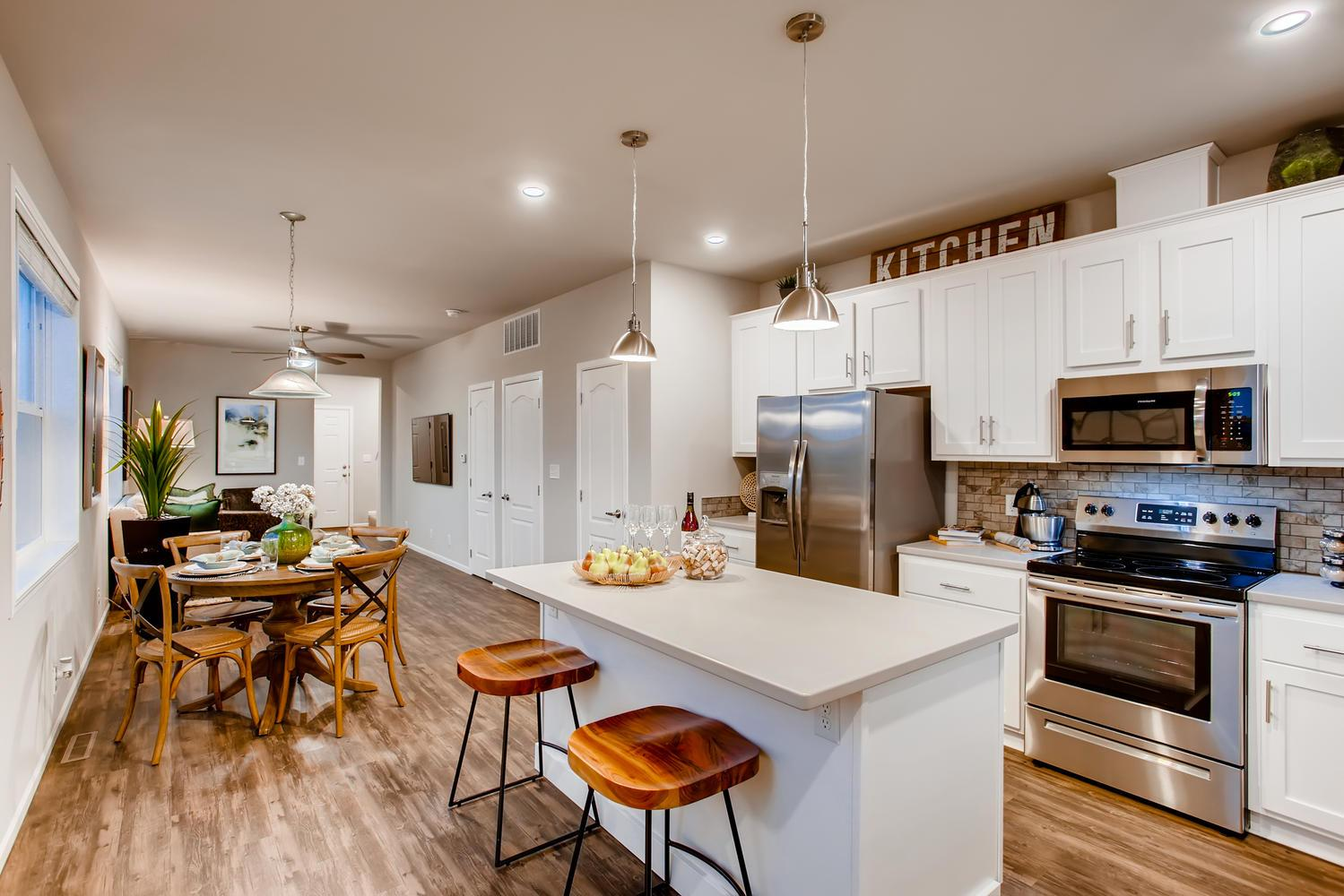 Kitchen featured in the Pollux I By RichfieldHomes in Fort Collins-Loveland, CO