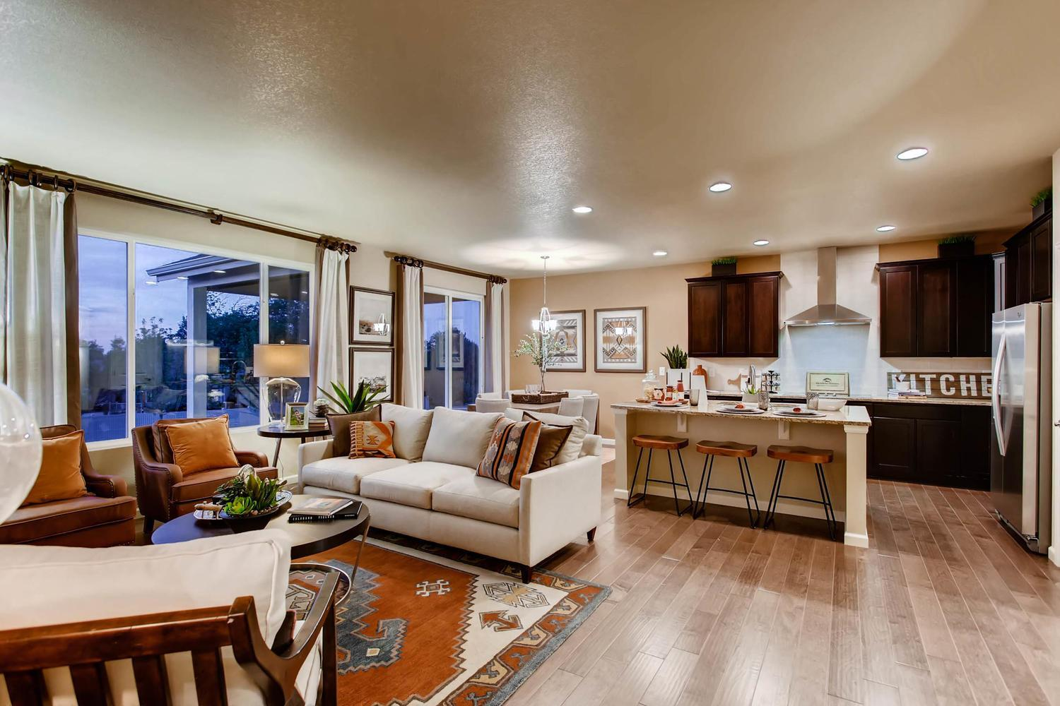 Living Area featured in the Lakewood II By RichfieldHomes in Fort Collins-Loveland, CO