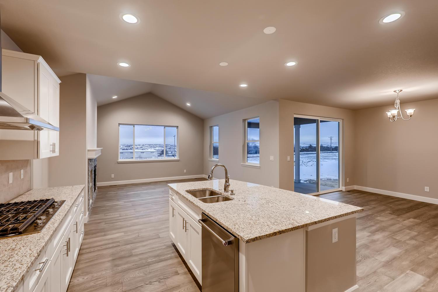 Kitchen featured in the Glendale II - Enclave at Prairie Star By RichfieldHomes