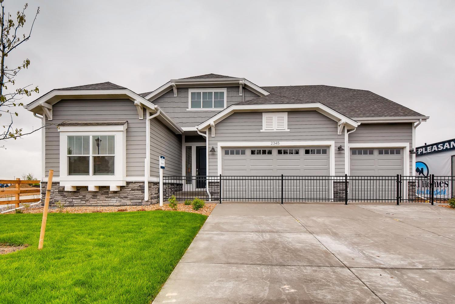 Exterior featured in the Minturn - Pleasant Valley By RichfieldHomes in Boulder-Longmont, CO