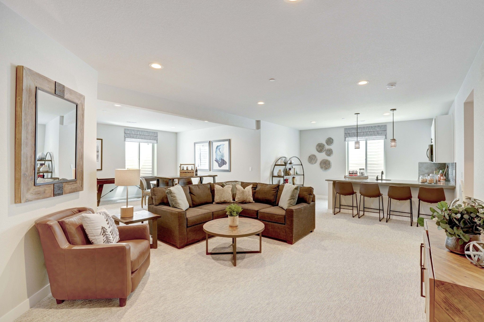 Living Area featured in the Penrose - Enclave at Prairie Star By RichfieldHomes
