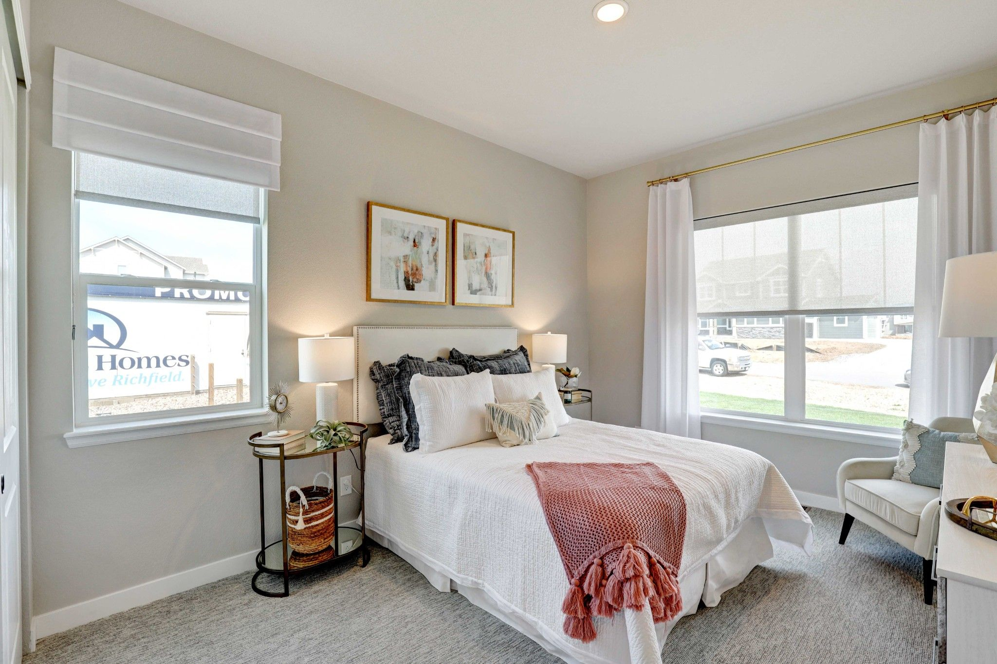 Bedroom featured in the Penrose - Saddler Ridge By RichfieldHomes in Fort Collins-Loveland, CO
