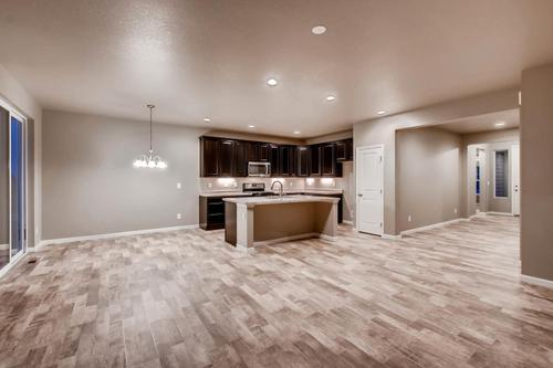 Kitchen-in-The Lakewood II-at-Prairie Star-in-Berthoud