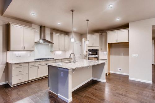Kitchen-in-The Glendale II- Meadows Collection-at-Pleasant Valley-in-Longmont